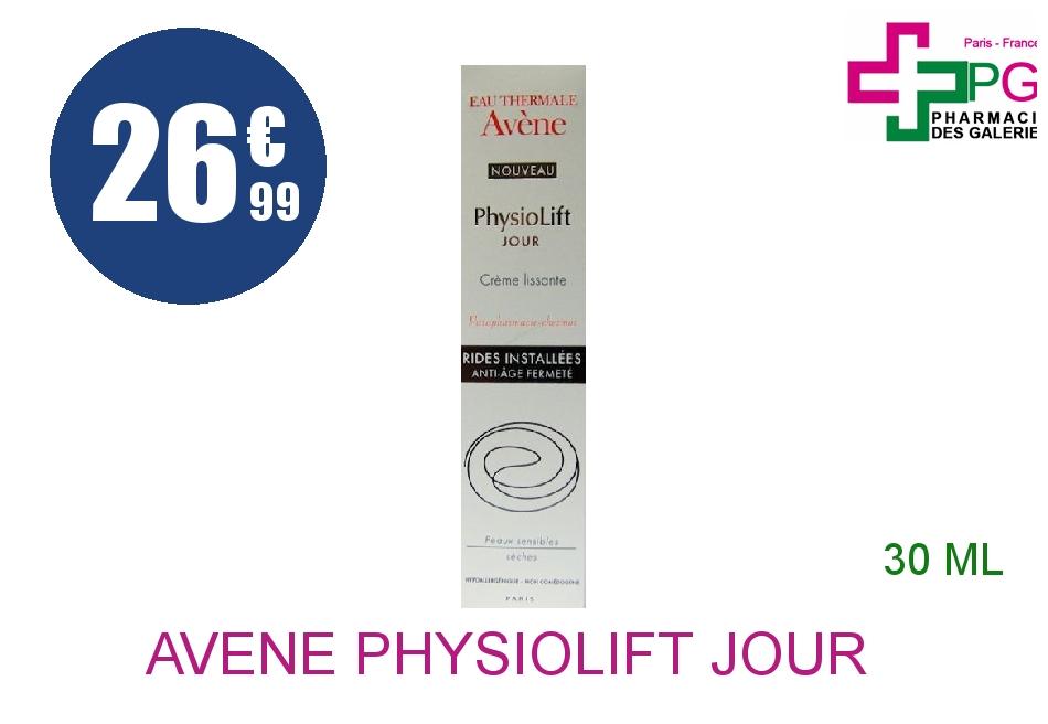 AVENE PHYSIOLIFT JOUR Crème lissante Flacon Airless de 30ml