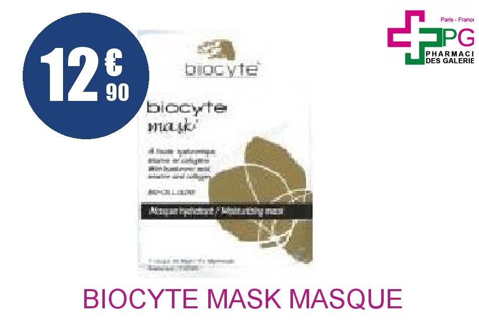biocyte mask masque hydratant 1 sachet. Black Bedroom Furniture Sets. Home Design Ideas
