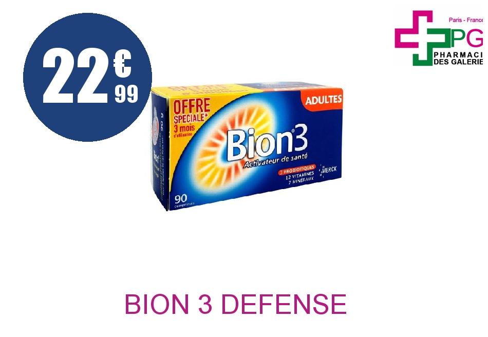 BION 3 DEFENSE ADULTE Comprimé Boîte de 90