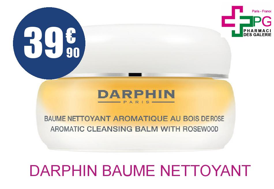 DARPHIN BAUME NETTOYANT  BOIS DE ROSE POT 40M