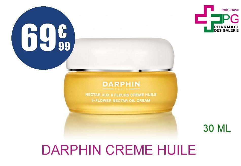 DARPHIN Crème huile nectar aux 8 fleurs Pot de 30ml