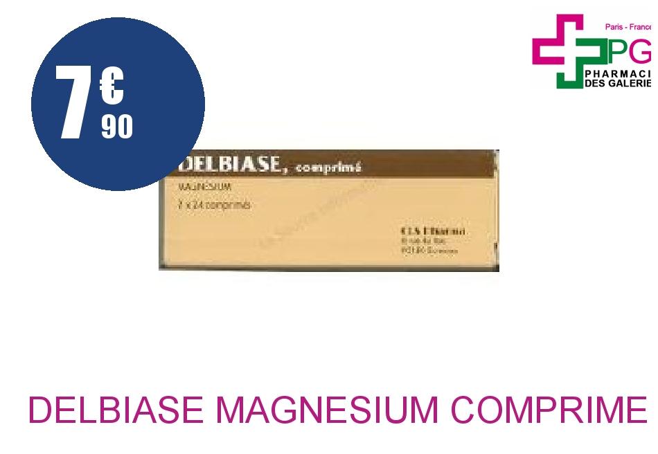 Achetez DELBIASE Magnésium Comprimé Boîte de 48