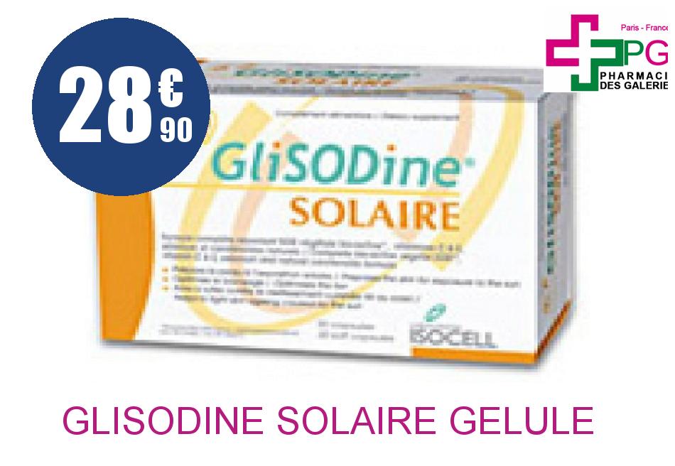 Achetez GLISODINE SOLAIRE Gélule Licaps 2Blisters/15
