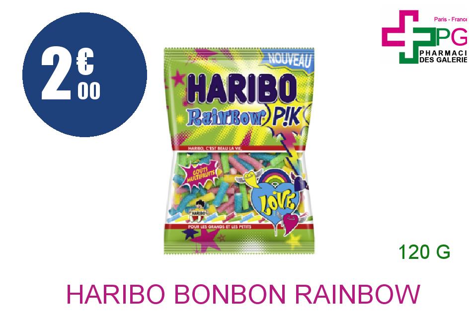 HARIBO Bonbon rainbow pik Sachet de 120g