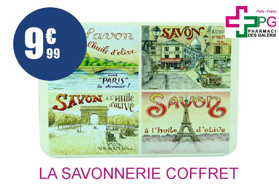 Achetez LA SAVONNERIE COFFRET VUE DE PARIS