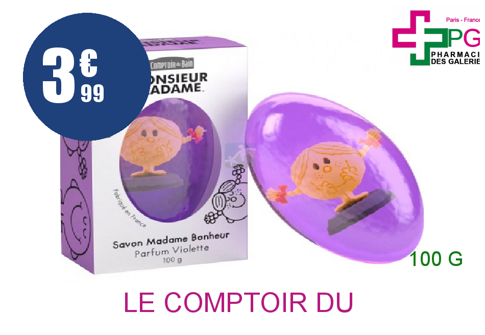le comptoir du bain savon mme risette cerise 100g. Black Bedroom Furniture Sets. Home Design Ideas