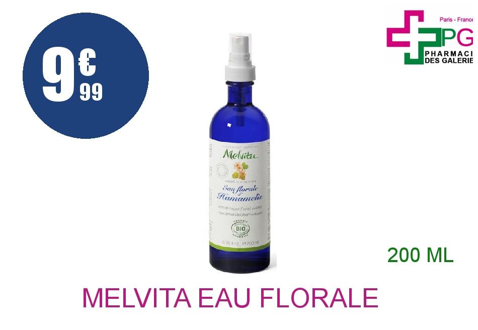 MELVITA Eau florale hamamélis Brumisateur de 200ml