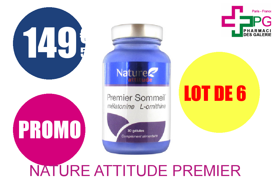 NATURE ATTITUDE PREMIER SOMMEIL Lot de 6