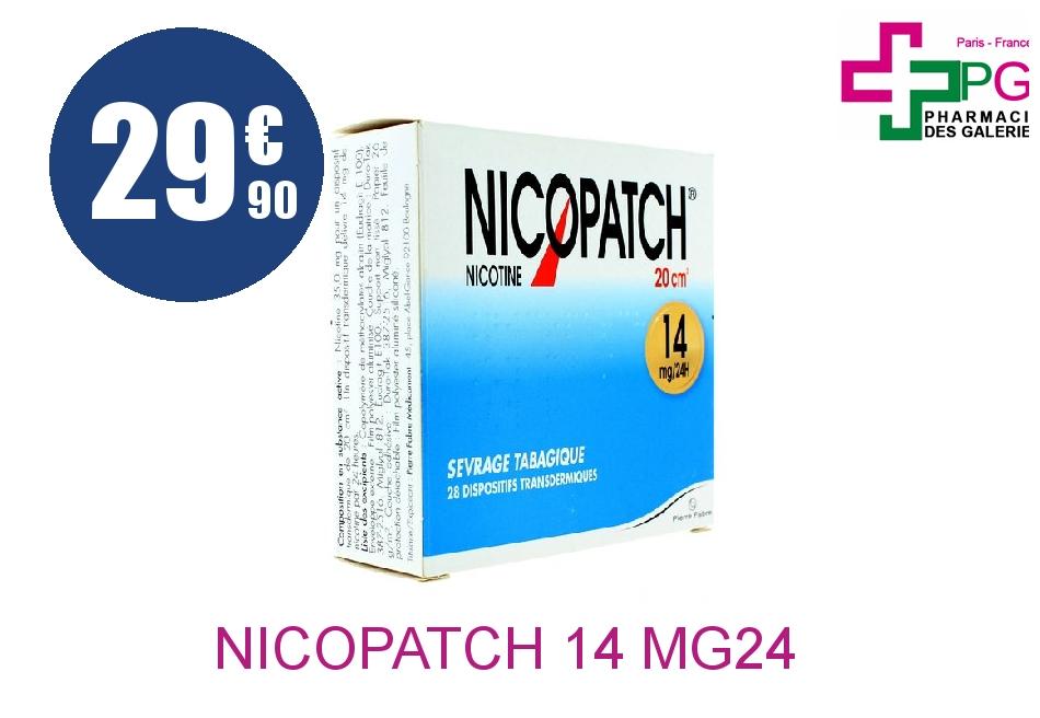 NICOPATCH 7 mg/24 h Dispositif Transdermique Boîte de 28