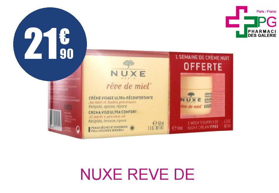 Achetez NUXE REVE DE MIEL PN COFFRET