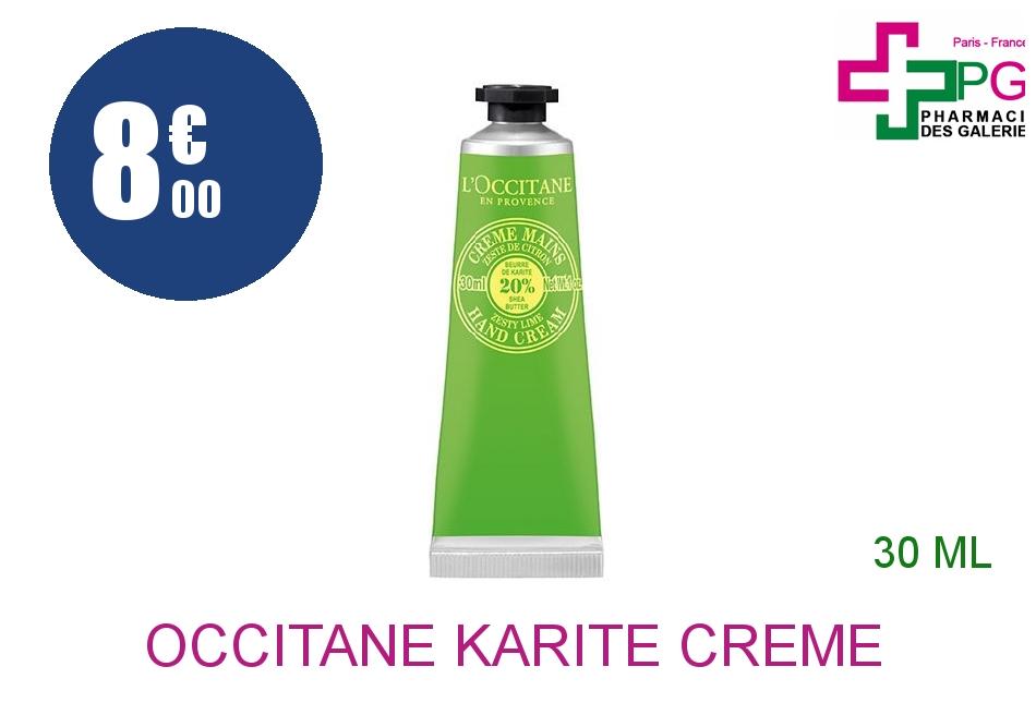 L'OCCITANE KARITE Crème mains citron Tube de 30ml