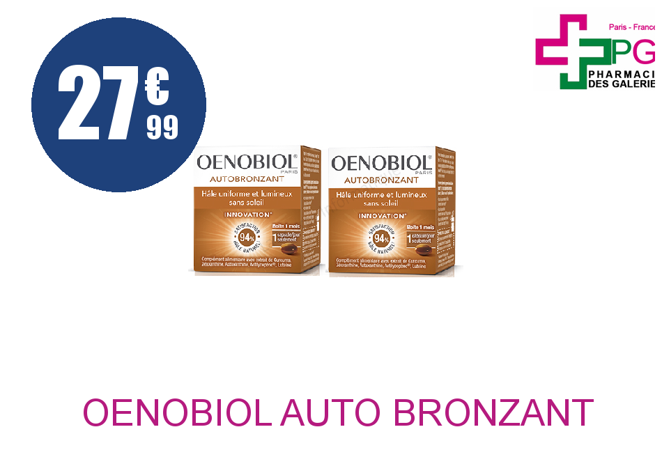 OENOBIOL AUTO BRONZANT LOT 2