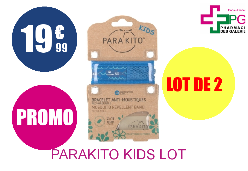PARAKITO KIDS Lot de 2