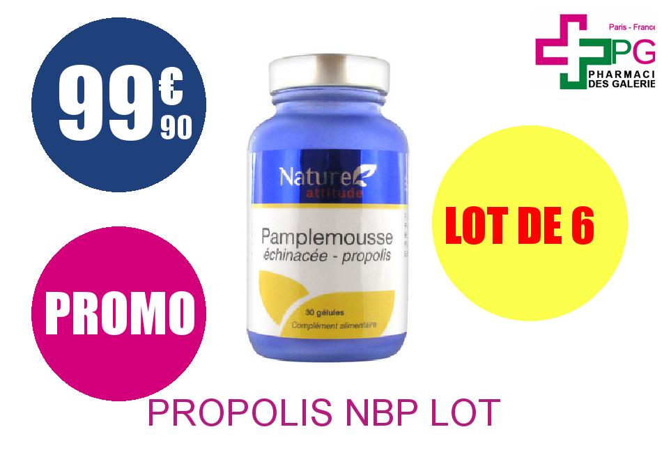 PROPOLIS NBP Lot de 6