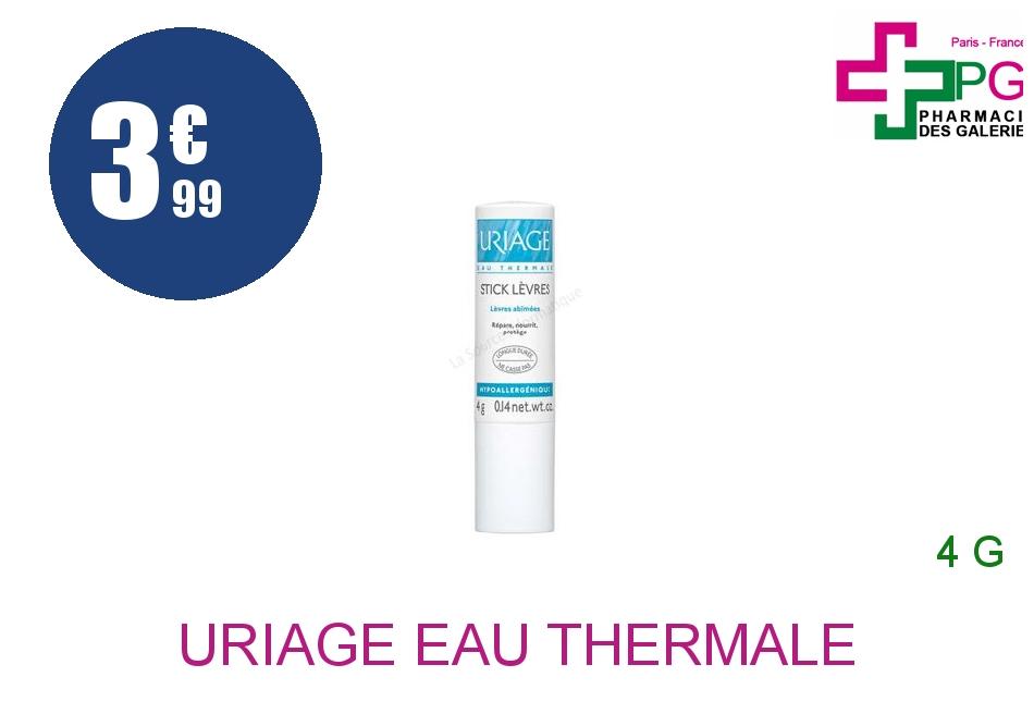 URIAGE EAU THERMALE Stick lèvres hydratant Tube de 4g